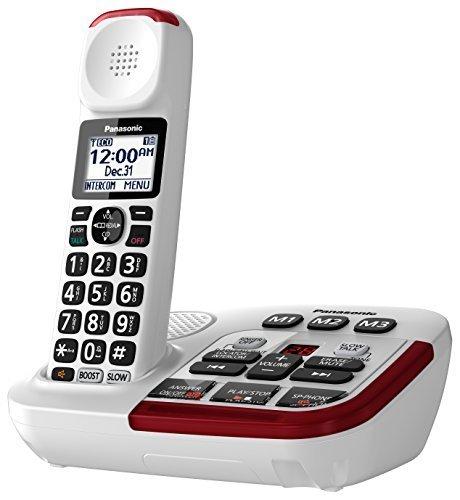 Qoo10 Panasonic Kx Tgm420w Amplified Cordless Phone With Digital Answering M Small Appliances