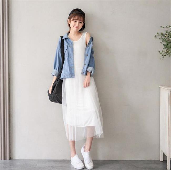 気質修身  韓国ファッションVワンピース 気質可愛い/レディス 高級でセクシーなドレス パーティードレス フォーマルドレス ファッション 送料無料!