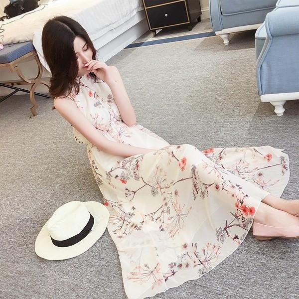 【送料無料】レディース ワンピース スカート ノースリーブ お嬢様風 2017 新作