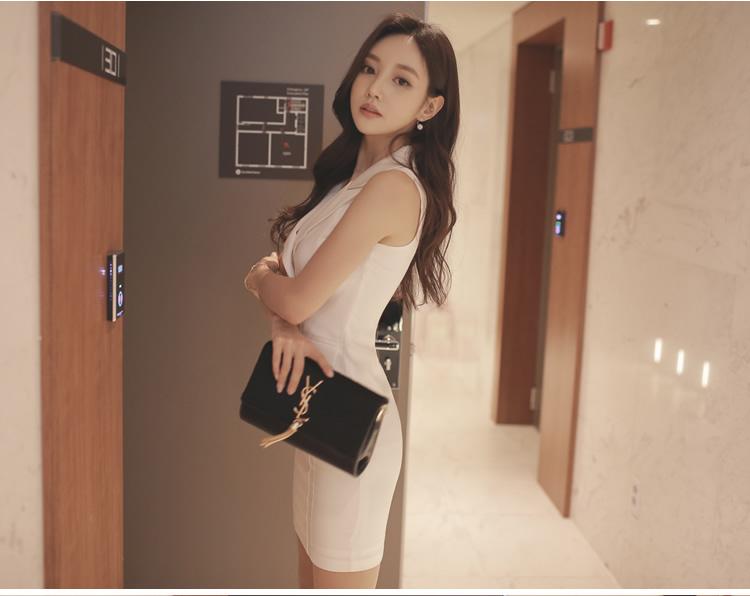 [55555SHOP]ワンピース/ おしゃれなシルエットのファッションコーデー提案!ハイクォリティー/韓国ファッション/オフィスルック