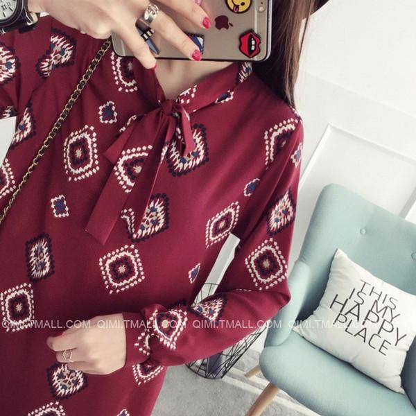 【送料無料】レディース スカート ワンピース シフォン 柄 フェミニン リボン カジュアル ロング ファッション