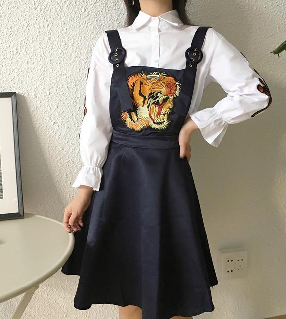 秋新作♪レディース♪トップス♪長袖シャツ♪キャミソールワンピース♪