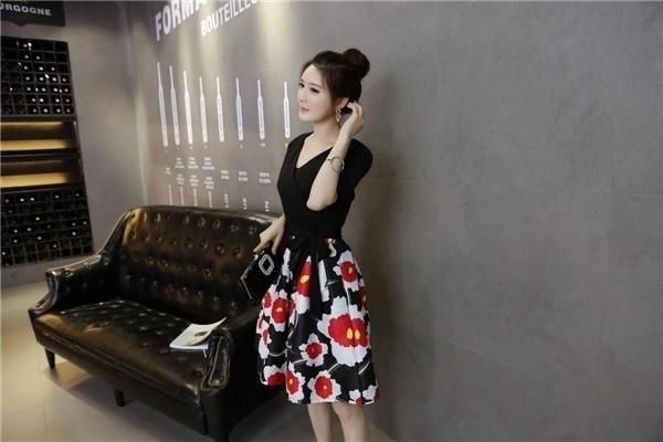 ワンピース レディースワンピース  ビーチワンピース Aラインワンピース セクシー ワンピース ドレス 花柄ワンピース シンプル ファッション ハイセンス 着心地いい おしゃれ 夏 韓国ファッション