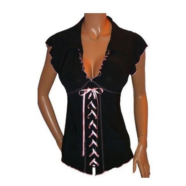 女性の夏のファッション半袖OネックティーズシャツハニーレタープリントカジュアルTシャツプラスサイズ