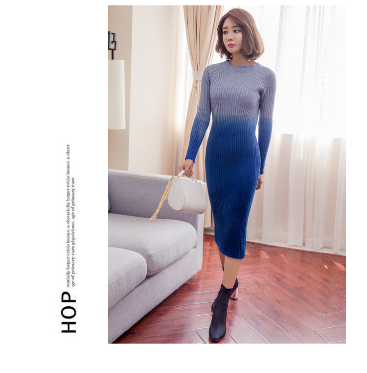 [55555SHOP]レディース 新作  ニット セーター OL ワンピース 通勤  セクシー ドレス