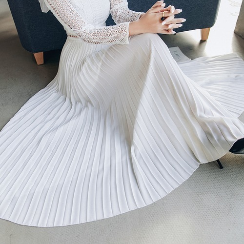 ロングドレス 切り替え 透け編み フリル スカラップ スリット レース スリム セクシー