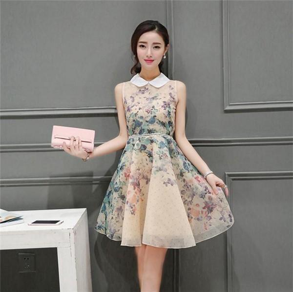 レディースワンピース 韓国無地 スリム 韓国のファッション 開襟ボンボンスカート ロングスカート  ハイウエストワンピース  プリントワンピース  ハイセンス 着心地いい おしゃれ 夏 スリム セール★ レディースワンピース