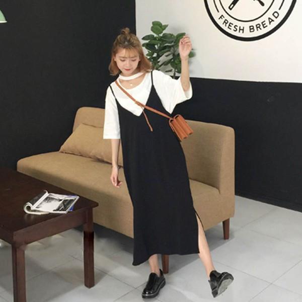 【送料無料】レディース ボトムス 2017  新作 Vネック ワンピース
