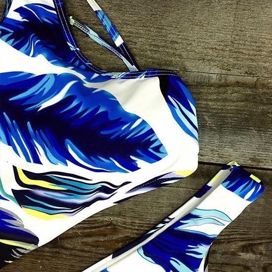 アメリカの水着女性ビキニ包帯プッシュアップ水着水着ビーチウェアWR