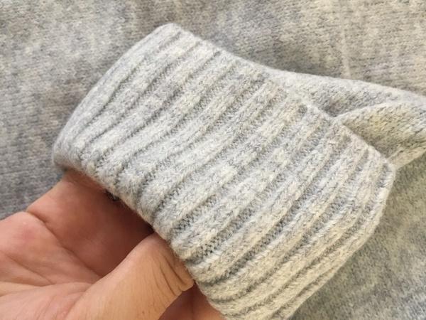 レディースイージーニットセータージャンパーヴィンテージオック長袖厚手ルーズセーター