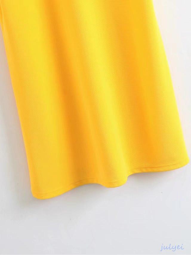 欧米風 全3COLOR    レディース   半袖ワンピース  2018春新品 襟刺繡入り 背中に透かし彫り ストレート着やせ 短いスカート