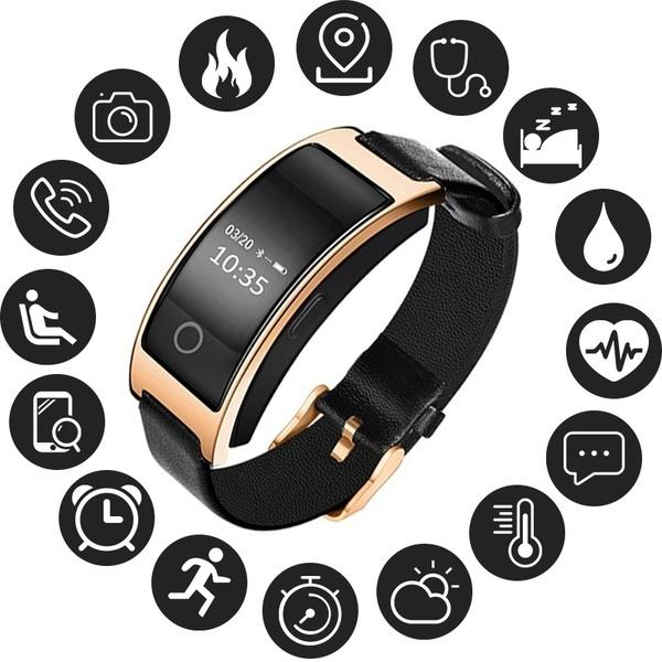 スマートバンドCK11S防水血圧腕時計血中酸素心拍数モニタースマートブレスレットPedo