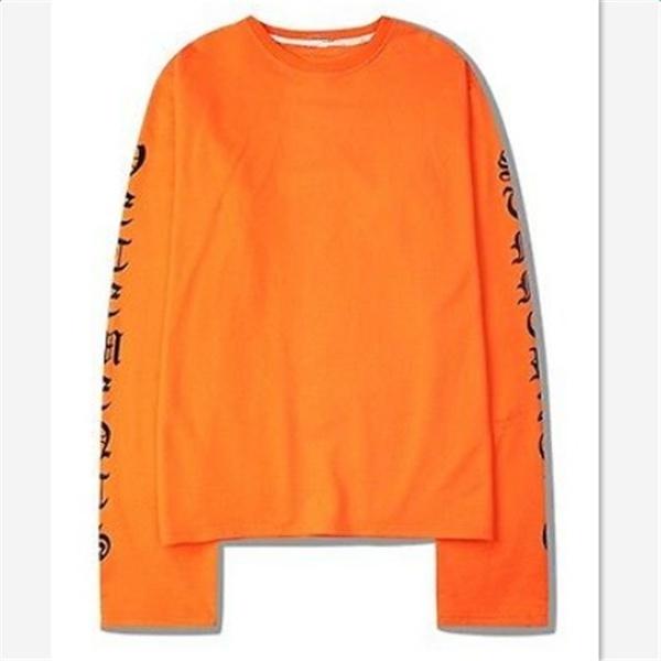 ファッション女性のカジュアルオーバーサイズのTシャツロングスリーブ秋のルーズトップスの秋の服装S  -  XXL