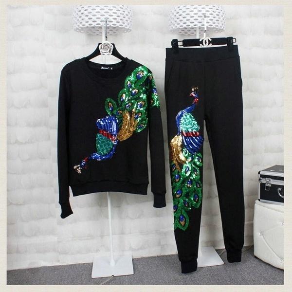 bestnewcom 1 PCピーコックアイロンオン刺繍パッチアプライモチーフ衣服装飾工芸
