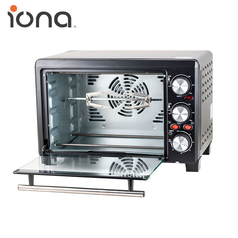 Qoo10 - IONA GL1803/ GL2801 18L/ 28L Convection / Rotisserie Oven Big  Capacity : Home Electronics