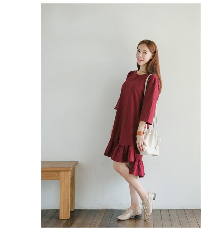 【送料無料】韓国ファッションワンピース