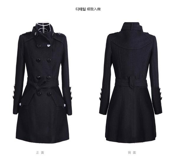 新しい女性のスリムダウンコットントレンチコートステッチフード付きパッディングジャケットベルト毛皮