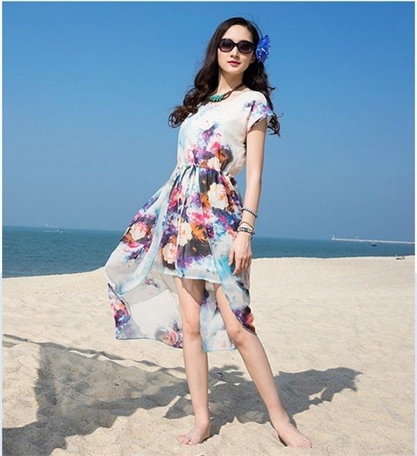 レディースワンピース ビーチワンピース 砂浜 キャミ プリント ファッション ハイセンス 着心地いい おしゃれ 夏 レディースワンピース