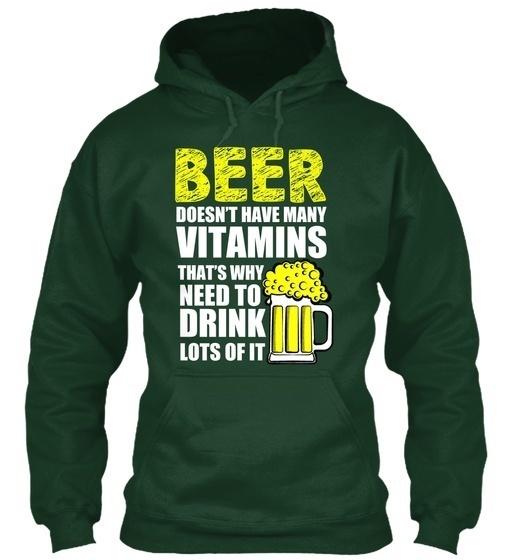 ビールはそれをたくさん飲む必要があります! Gildan Hoodieスウェットシャツ