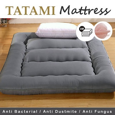 SALE ⏰★Popular in Japan! ★ Tatami mattress / mattress topper Anti-bacteria 3 Fold