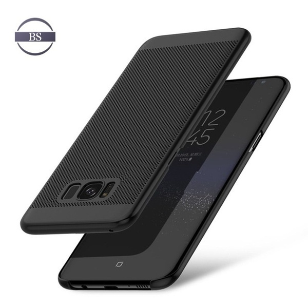 iPhone 6 7 8 Plus iPhone X用の熱放散ケースサムスンギャラクシーS6 S7エッジS8プラスJ5 J7プライム