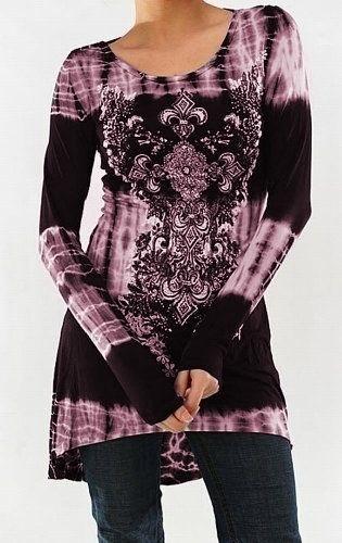 女性のファッションS  -  5XLプラスサイズパンクスタイルロングスリーブ中空カジュアルコットンTシャツブラックZH4915
