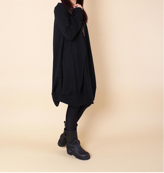大人気の新作 体型カバーになる ワンピース♥プレミアム ドレス ジャージ ナチュラルルーズフィットでラインがキレイにみえる 裾部分 フェミニンな印象に レイヤード高級感のある大人のブラウス気になる部分