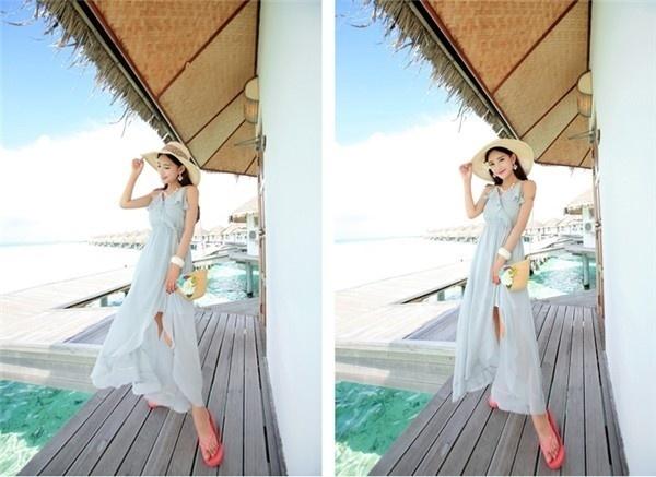 レディースワンピース ビーチワンピース 砂浜 フリル キャミ ファッション ハイセンス 着心地いい おしゃれ 夏 レディースワンピース