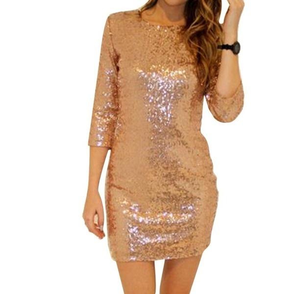 米国在庫新しいセクシーなスパンコールクラブドレス女性セクシーなパーティークラブミニドレス