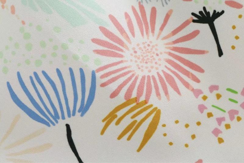 2017年韓国!夏のファッション!ワンピース/プリント柄ワンピ/ボートネック/半袖/ミディアムワンピース/フリルワンピース/花柄/海/かわいい/リボン付き/レディース/素敵なデザイン/しゃれ/デート