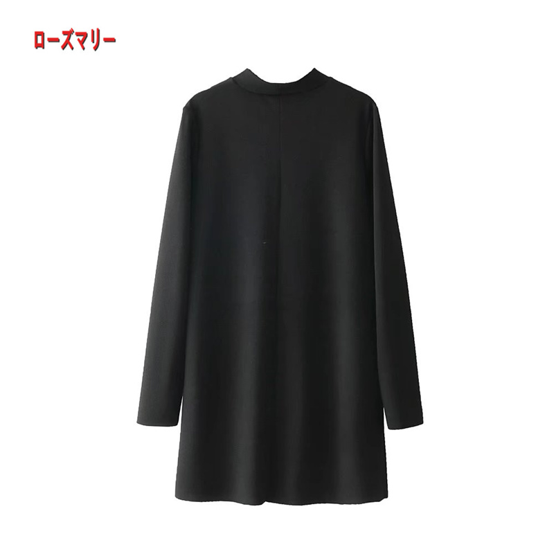 【ローズマリー】早く春に新型2018欧米流行の女装のプリントのワンピース着やせ詰襟のスカート  長袖ワンピース  花柄 ヴィンテージ調  ベーシック-QQ5939