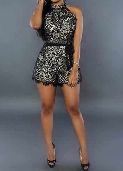 女性ファッションカジュアルラウンドネック半袖パイナップルプリントTシャツトップス