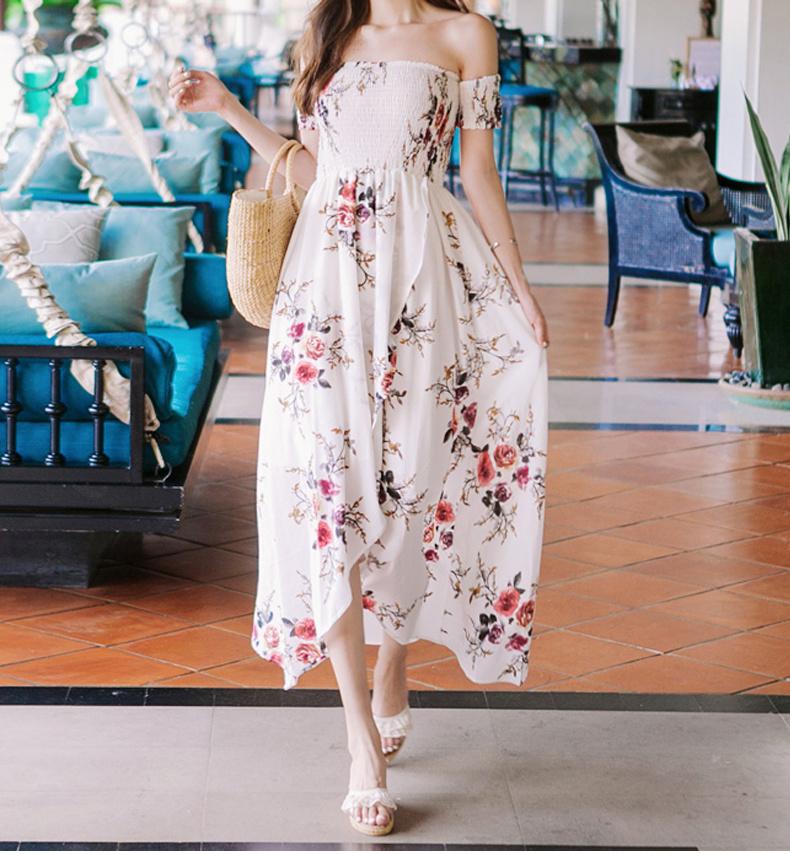 [55555SHOP]上品&ガーリー♡レトロ レース ♪ ワンピース/シャーリングディテールも可愛い♪/大人可愛いワンピース/韓国 ファッション ワンピース/Tシャツ/シャツ