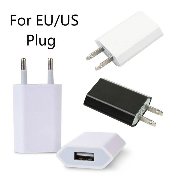 オリジナルチップ1:1コピーEUのプラグUSB電源ホーム壁の充電器アダプターiPhoneのためのHuawei Xiaomi Cell Pho