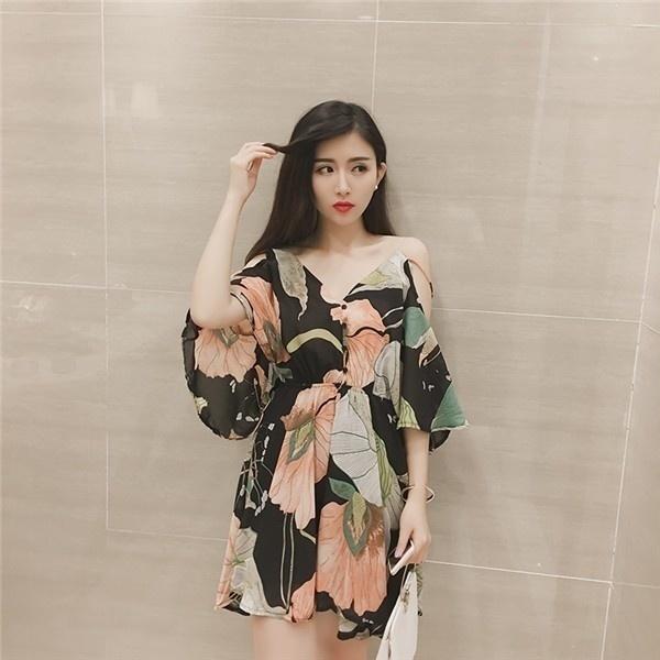 ワンピース レディースワンピース  ビーチワンピース Aラインワンピース シフォンワンピース セクシー ワンピース ドレス シンプル ファッション ハイセンス 着心地いい おしゃれ 夏 韓国ファッショ