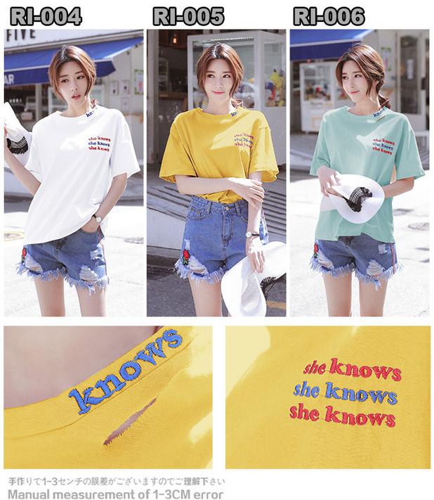 ♥韓国ファッション♥Tシャツ、ワンピース、ズボン♥花柄、不規則、気質感♥ストリートファッション、結婚式、OL、正式な場合、ドレス、洋服♥
