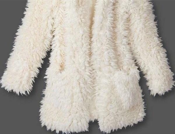 秋冬の暖かい女性のパーカーコートジャケットテディベアのイヤー厚いソフトフリースのファーオーバーコートスウェットシャツ