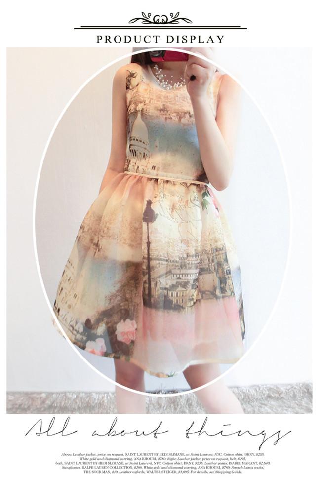 シフォンワンピース ノースリーブワンピ韓国ファッション レースドレス 春夏レディースファッション大人かわいい 半袖ワンピース 半袖のスカート シルエット スカート ショート 韓国風 春 春服 ワンピースドレスセクシーなパーティーワンピース