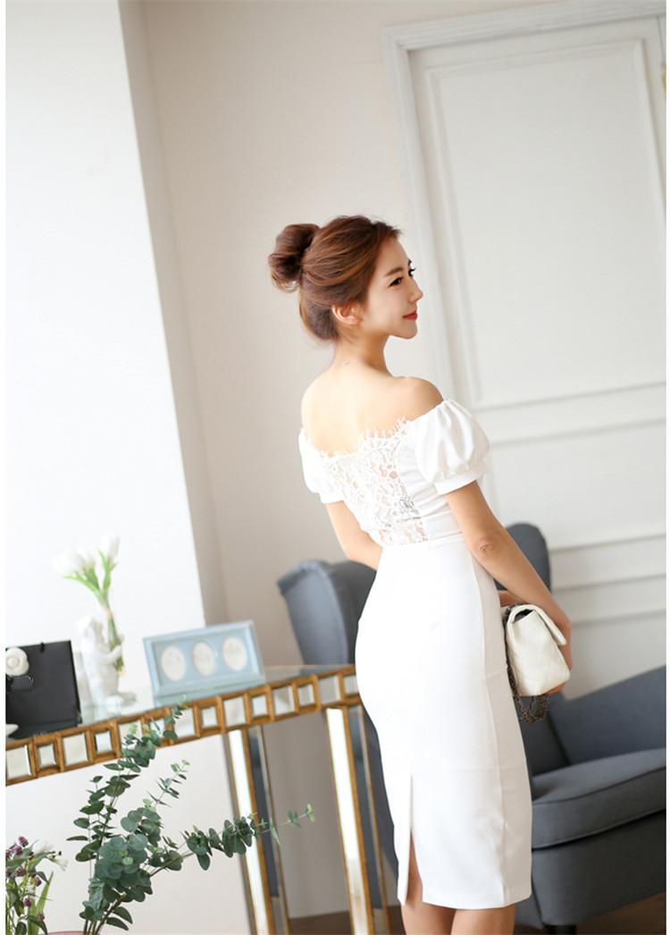 レディース ワンピース 新作 上品 スプライス パーティー ファッション OL ドレス