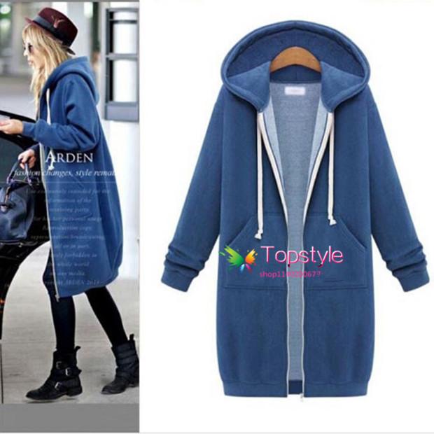 Winter warm coats women Hooded Ladies Warm Coat Jackets
