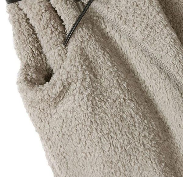 女性のノースリーブフェイクファーロングファーリーパーカーズベストジャケットアウターコート