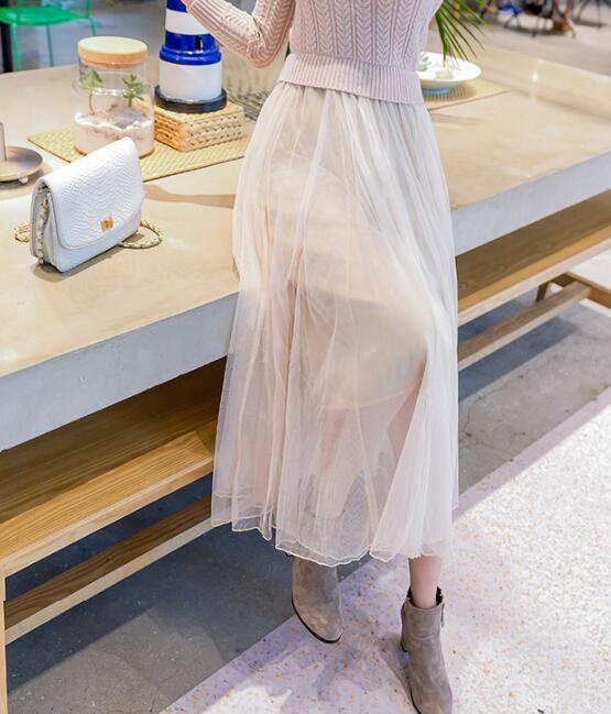 レディース 新作 人気 OL ニット ワンピース Aライン 通勤  スプライス ドレス