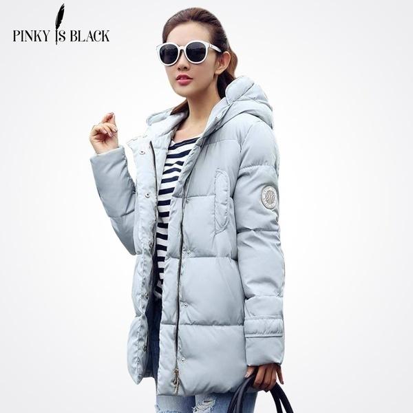 2017年新ロングパーカス女性女性ウィンターコート厚めコットンウィンタージャケット女性アウトパーカー