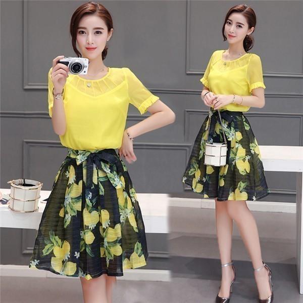 レディースワンピース 韓国無地 スリム 韓国のファッション  半袖シフォンワンピース 上品 ロングスカート  ハイウエストワンピース  プリントワンピース  ハイセンス 着心地いい おしゃれ 夏 スリ