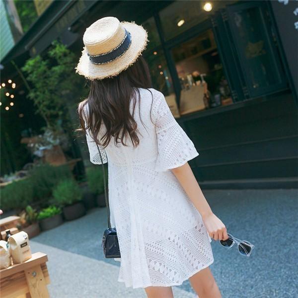 レディースワンピース 韓国無地ワンピース スリムワンピース レースワンピース プリントワンピース 麻綿ファッション ハイセンス 着心地いい おしゃれ 夏 スリム セール★ レディースワンピース