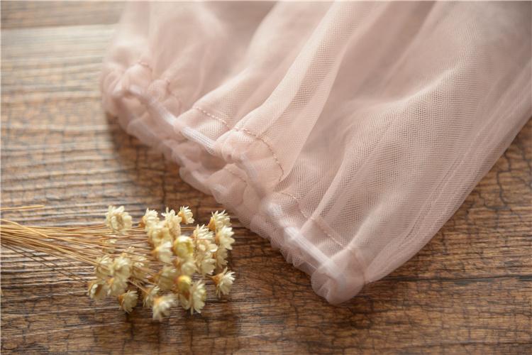 ワンピース レデイース 夏 無地 棉麻 レース 大きいサイズ 膝丈 五分袖 森ガール ワイドワンピース ポルカドット ワンピース ゆったり ワンピース 可愛い 淑女 きれいめ ワンピース 刺繍ドレス
