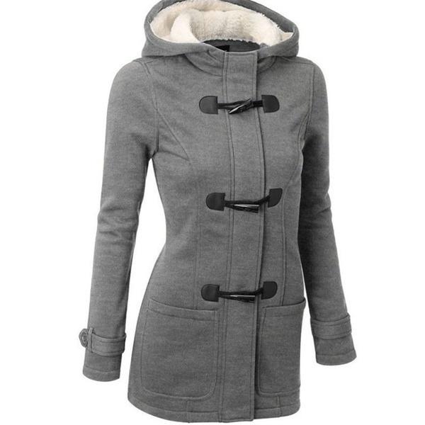 ダウン&パーカスウォームコート2017女性ファッションウィンタープラッシュジャケットと帽子ロングスリーブスリムレディースC