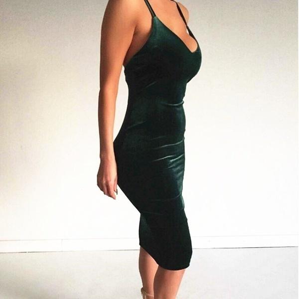 ダブルライニングベルベットクロスドレスファッション夏スタイルセクシードレス女性ノースリーブドレス
