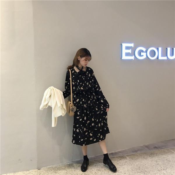 【送料無料】レディース ワンピース シフォンドレス  花柄 ファッション 2017 新作