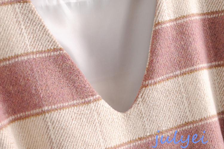 ラシャ素材 パフスリーブ シルエット ワンピース 女性 大人  可愛い  韓国ファッション 【2017年新作/秋冬】レディース ピンク、ライトブルー